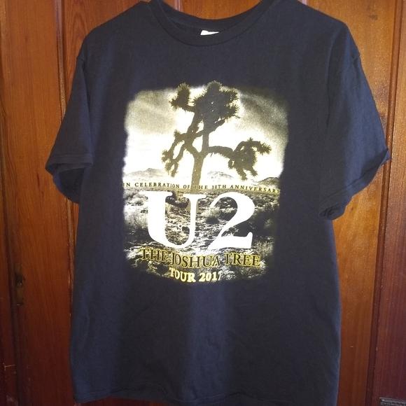 U2 Other - U2 CONCERT TOUR T-SHIRT 👕 2017 Rock Tee Shirt